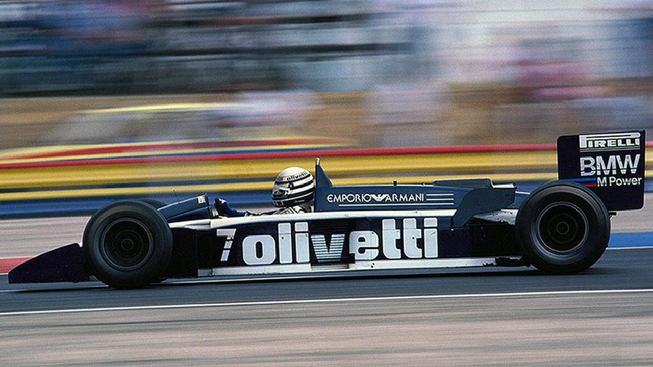 A Brabham BT55 é considerado uma irmã da McLaren MP4/4