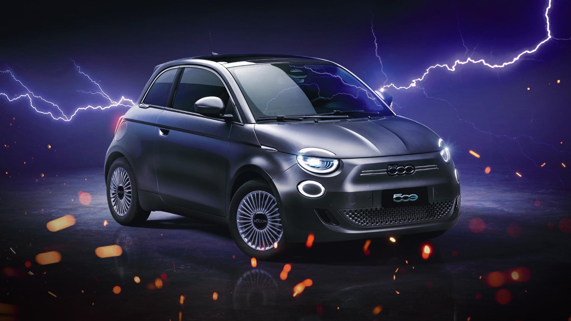 Novo Fiat 500 tem uma autonomia de até 320 km