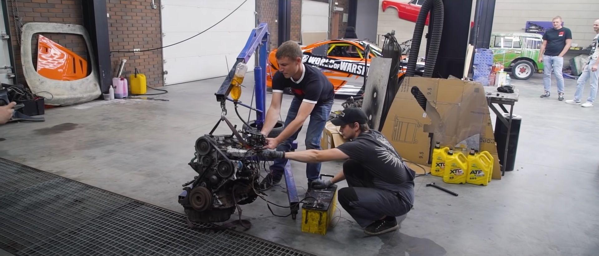 motor diesel convertido para gasolina pronto