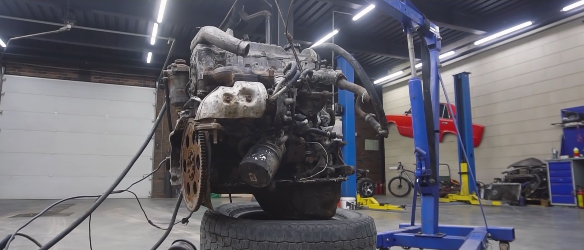 motor diesel convertido para gasolina