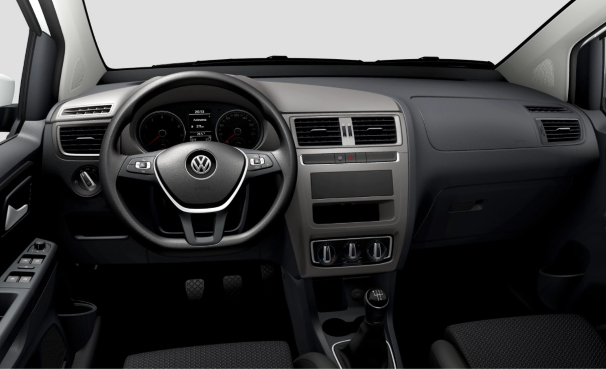 painel volkswagen fox connect 2022 sem central multimidia