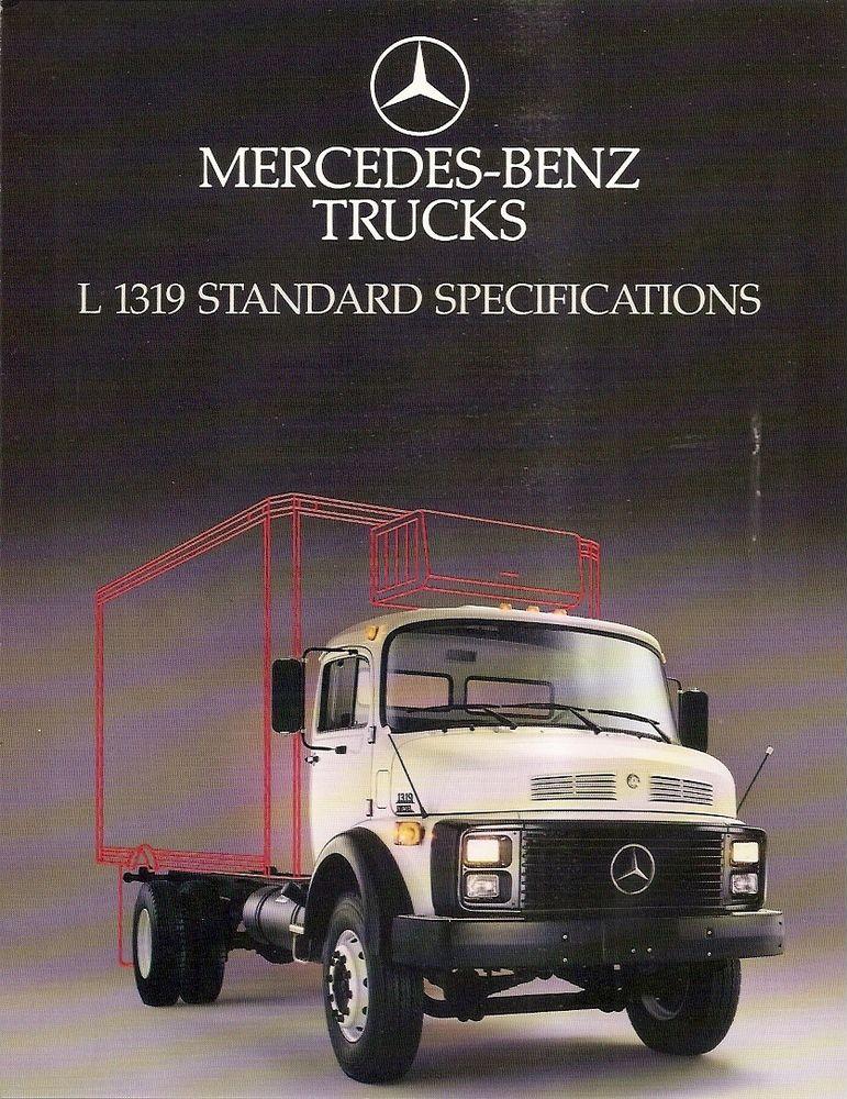 mercedes l1319 exportacao eua