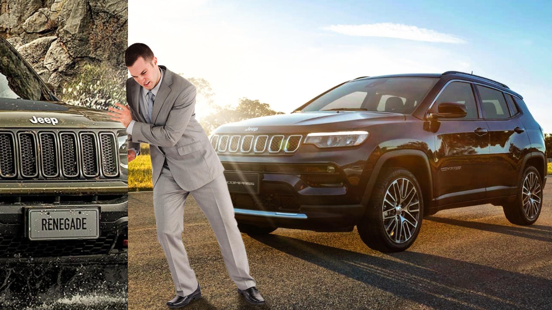 A Jeep mudou seus planos e decidiu que seu primeiro SUV híbrido no Brasil será o Compass