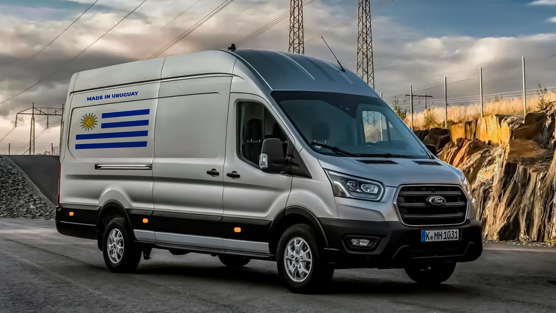 Linha Transit da Ford será produzida no Uruguai