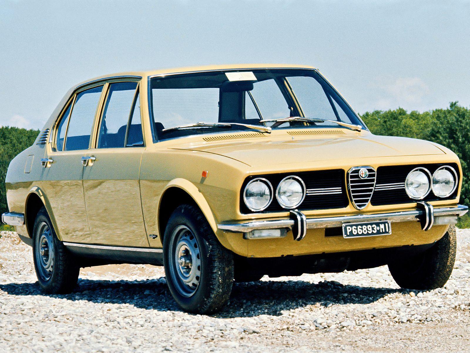 alfa romeo alfetta 1972 amarelo