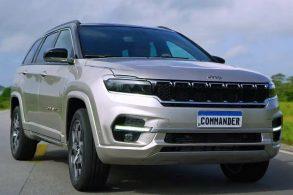 [Vídeo] Com lançamento marcado, Jeep Commander é revelado por completo