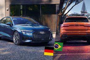 Audi A3 da Alemanha. Q3, quem sabe, no Brasil