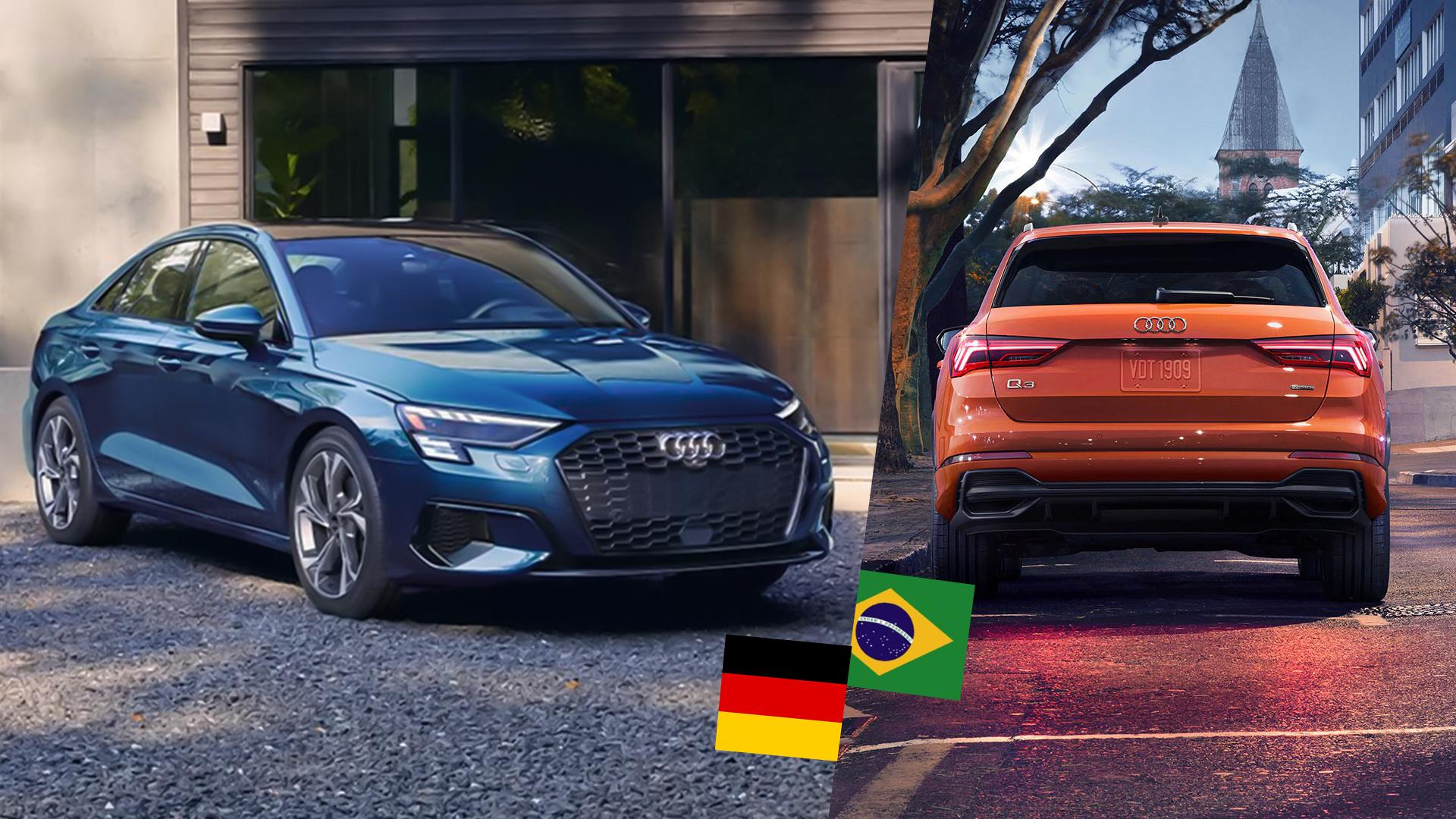 Audi A3 chega ao Brasil importado da Alemanha. Q3 pode voltar a ser fabricado no Paraná