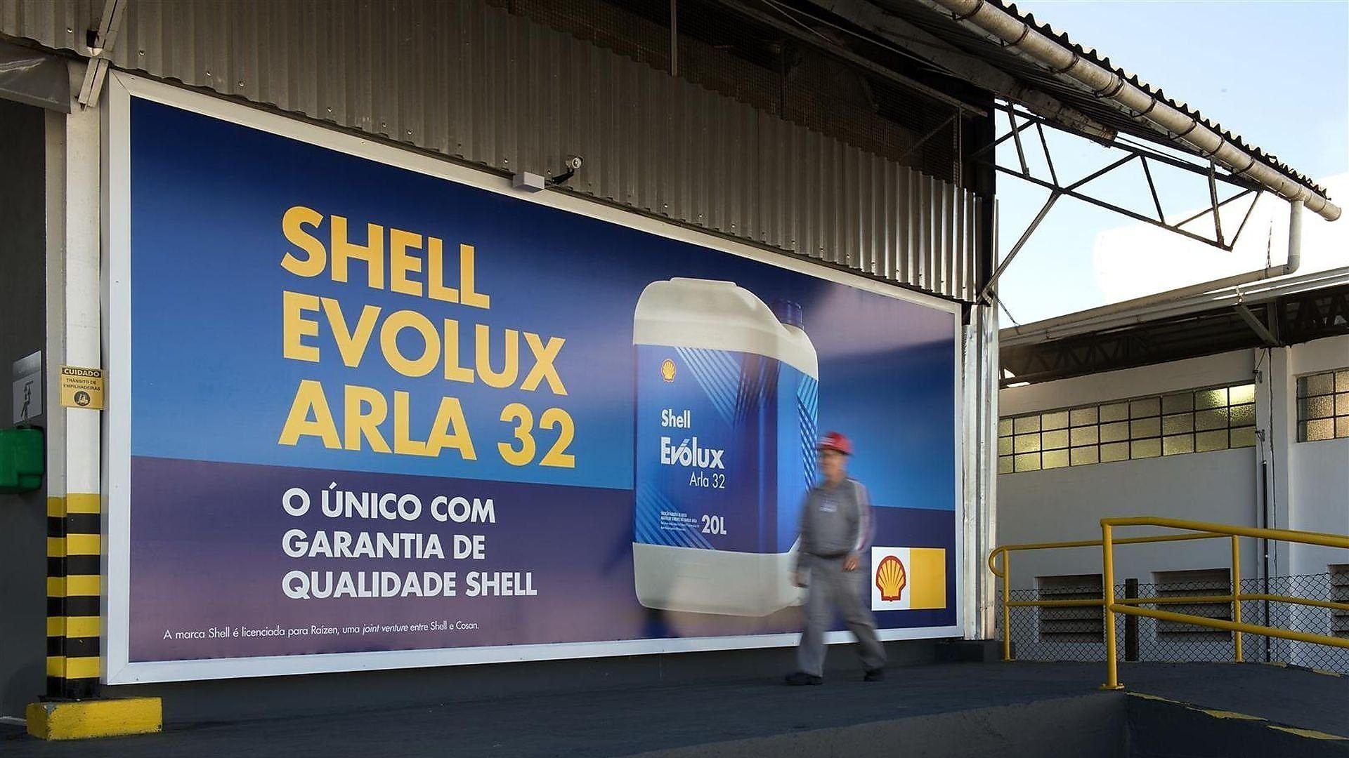 propaganda de arla 32 shell evolux