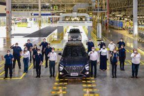 Hyundai inicia a produção do novo Creta em Piracicaba (SP)