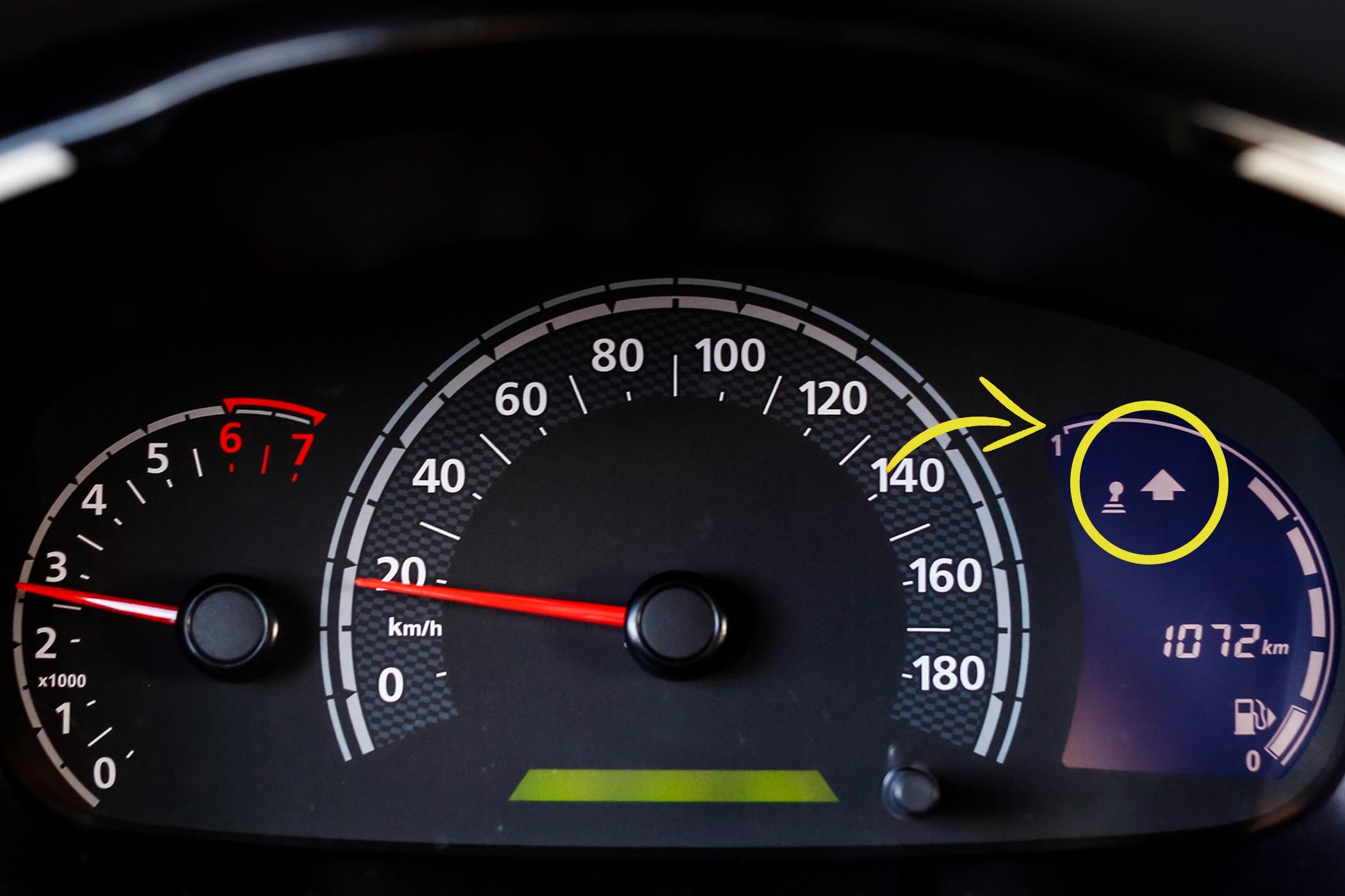 Fique ligado no conta giros do seu automóvel