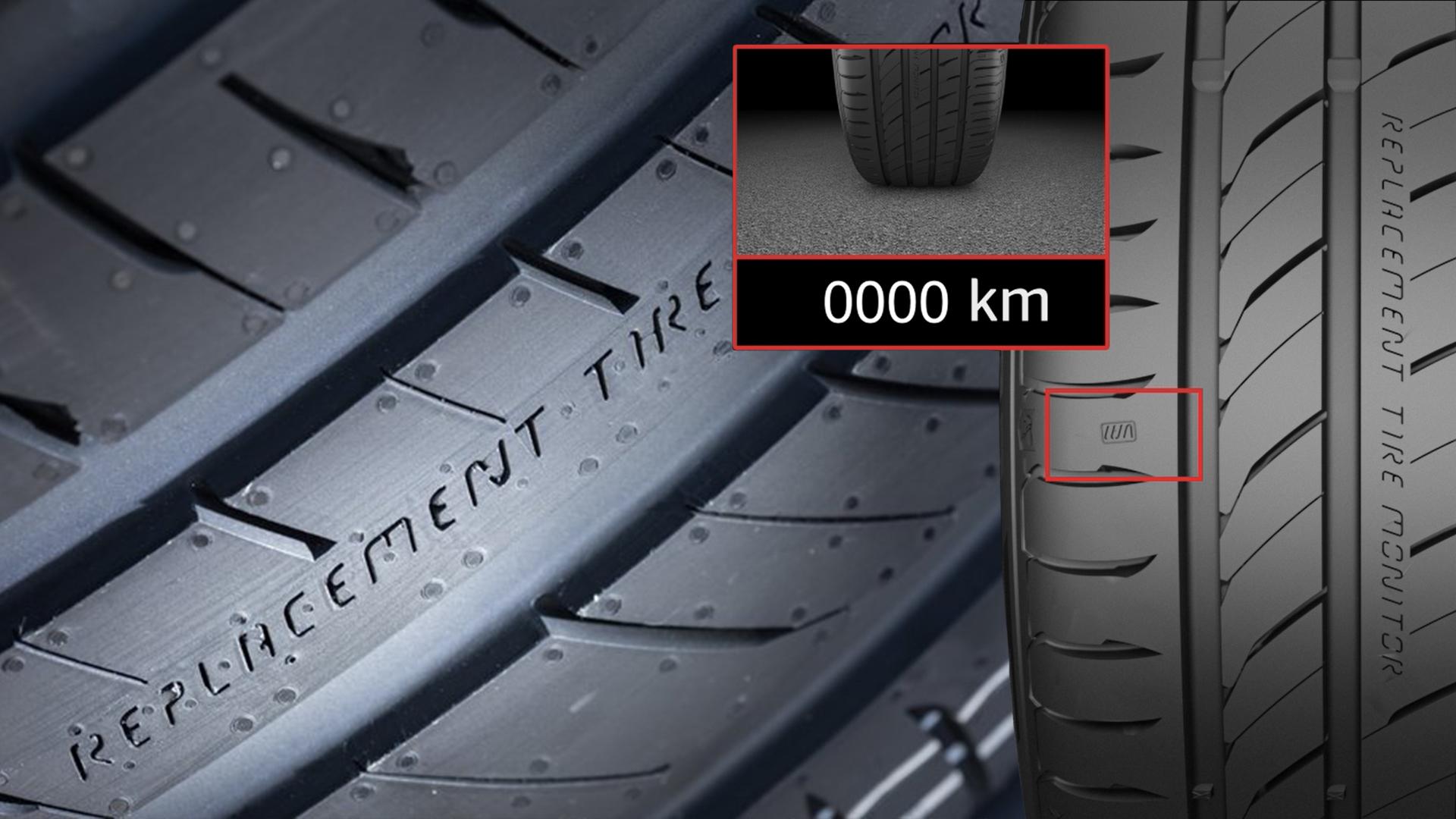 Nova linha de pneus da Continental informam o condutor sobre possíveis manutenções