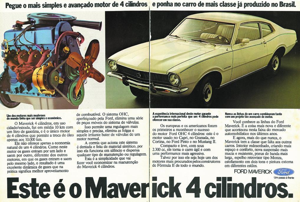 propaganda ford maverick 1975