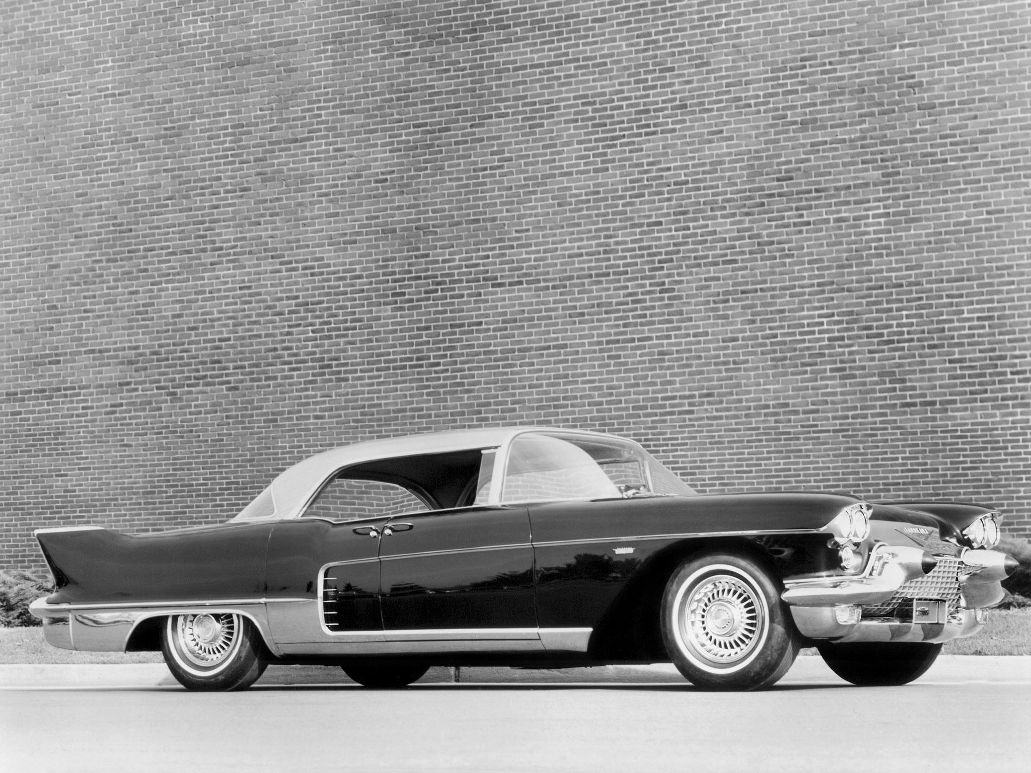 cadillac eldorado brougham 1957 preto lateral