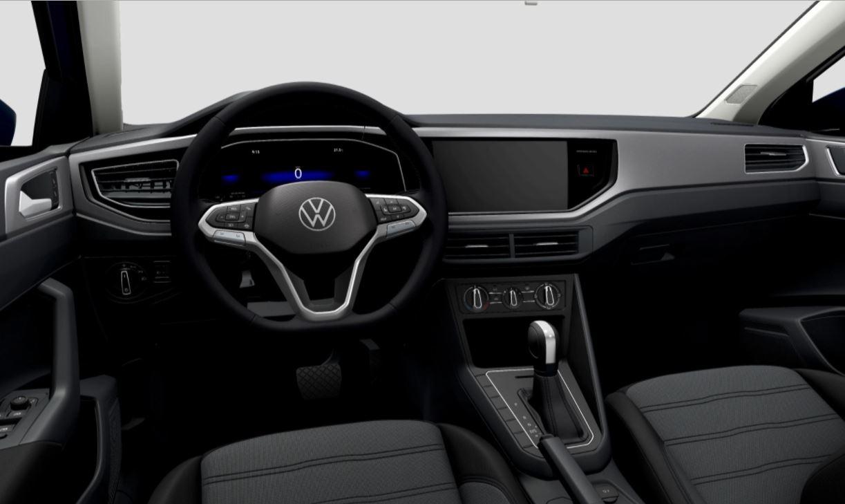 vw nivus comfortline 2022 interior sem central multimidia