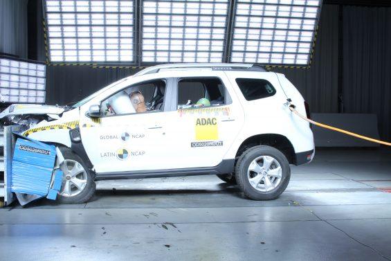 renault duster crash test latin ncap 4