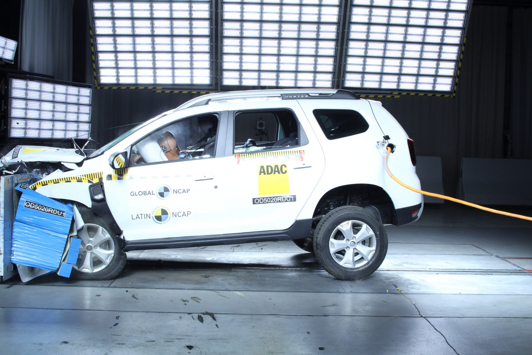 renault duster crash test latin ncap 5