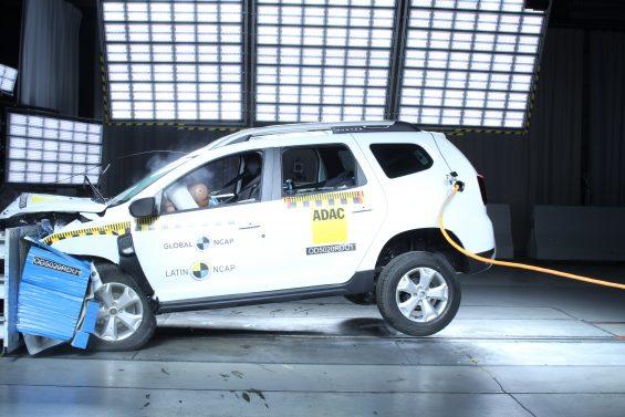 renault duster crash test latin ncap 6