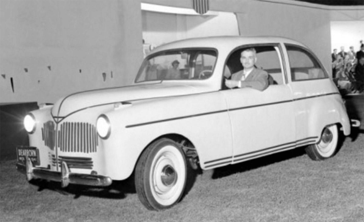 ford hemp car carro experimental com carroceria feita com fibra de maconha