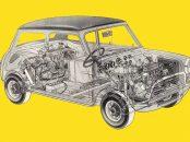 Inovação trazida pela montadora Mini popularizou os veículos de tração dianteira