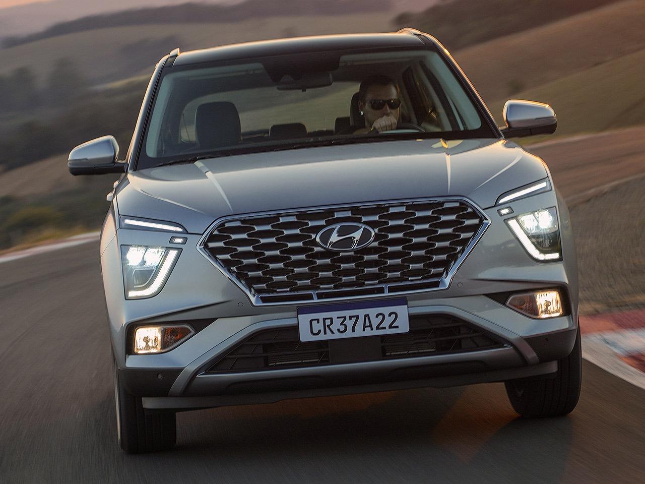 Assim como no HB20, Hyundai ousou no estilo do novo Creta