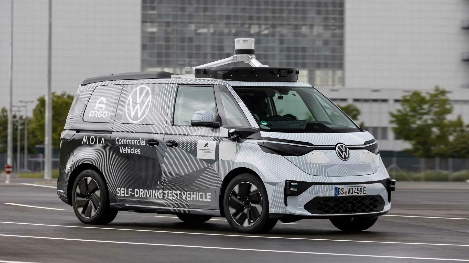 volkswagen id buzz autonomo