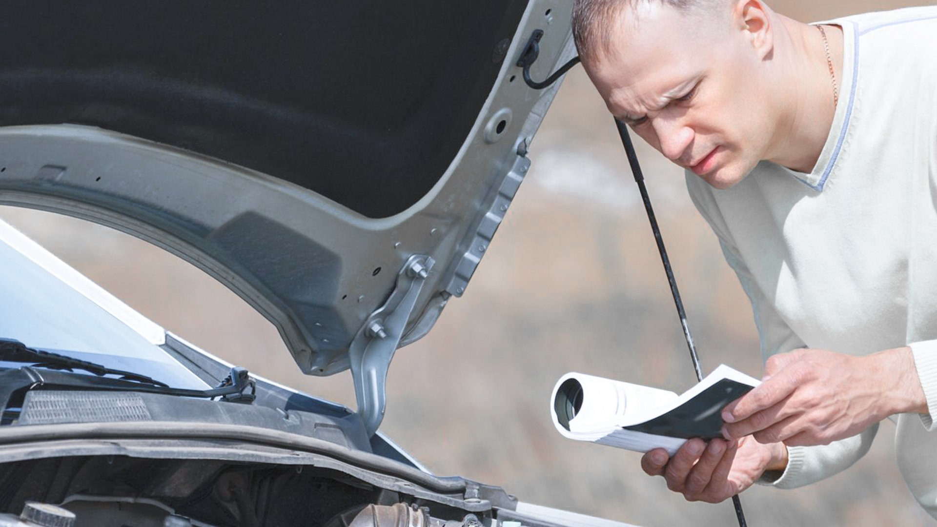 O manual do veículo é um grande aliado do proprietário