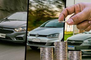Conheça 10 carros para rodar com o Uber com baixo custo