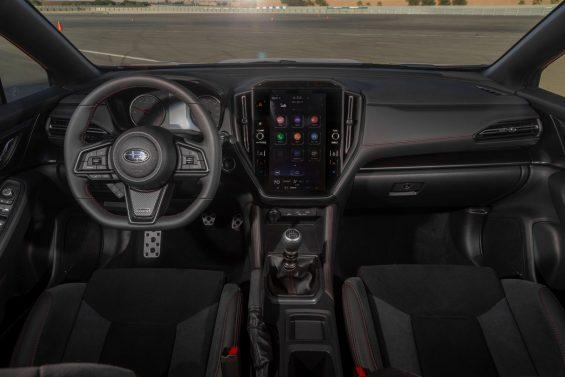 subaru wrx limited interior painel cambio manual