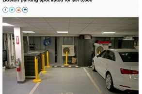 Vaga de estacionamento está à venda por quase R$ 2 milhões