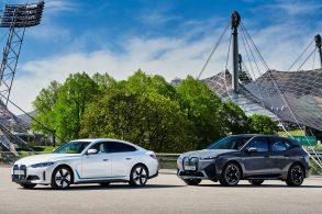 O SUV iX e o sedã i4 são os novos BMW elétricos no Brasil