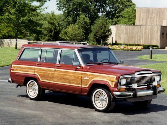 jeep grand wagoneer 1985