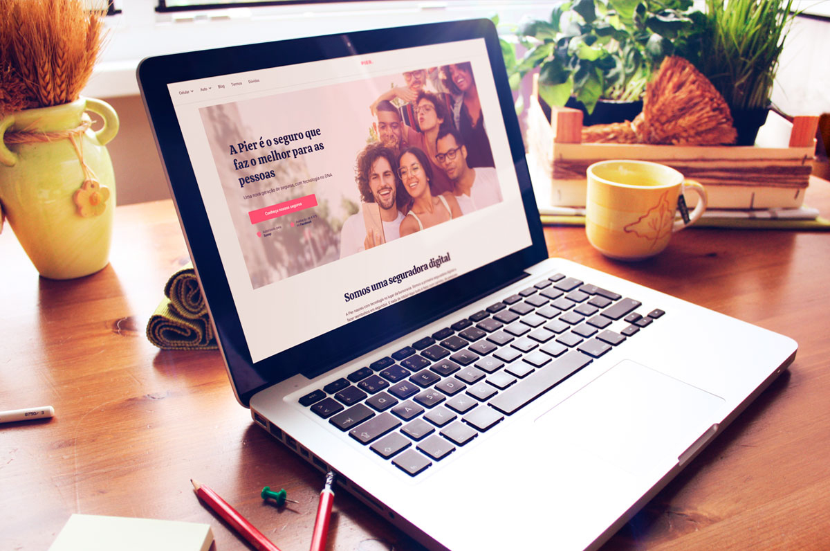 cotacao de seguro online na stertup pier