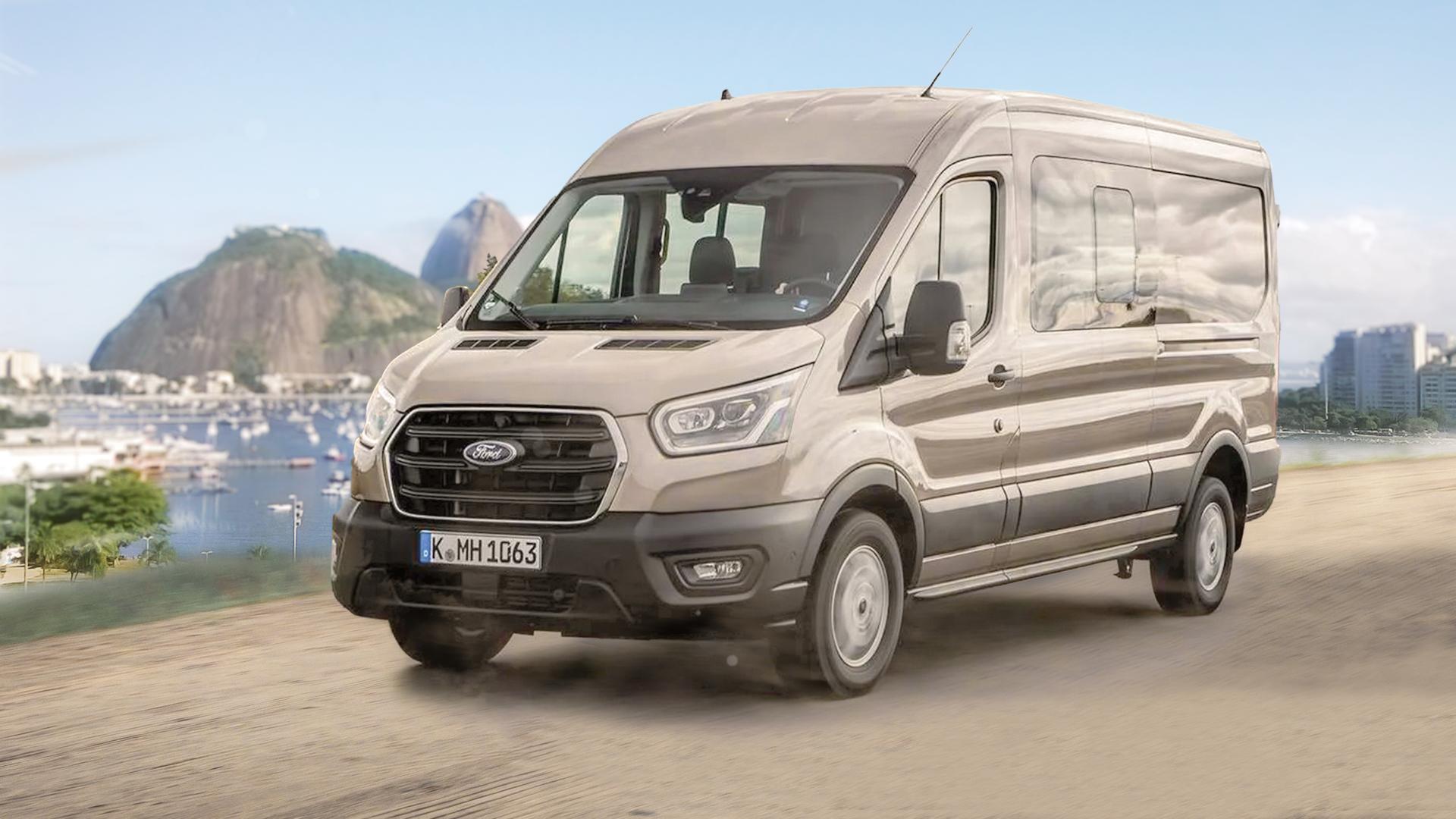 Ford Transit está de volta ao mercado brasileiro