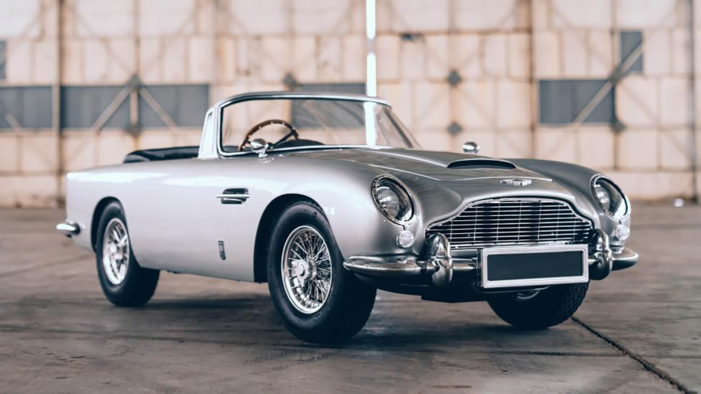 the little car company aston martin db5 junior no time to die edition dianteira