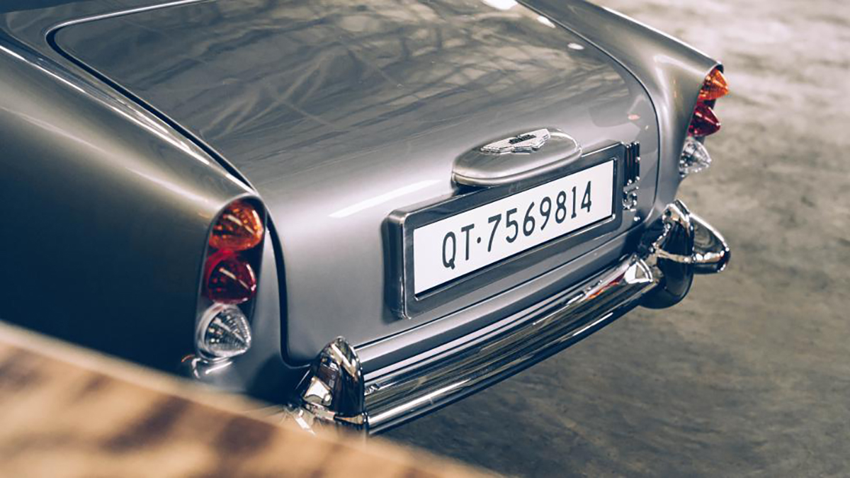 the little car company aston martin db5 junior no time to die edition traseira