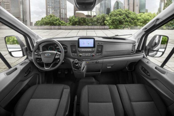 ford transit painel interior 1