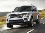 land rover discovery 4 xxv special edition prata frente em movimento estrada