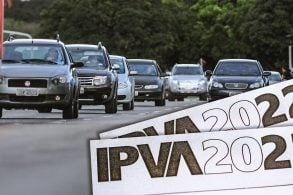 IPVA pode ficar mais caro em 2022 devido à valorização dos carros usados