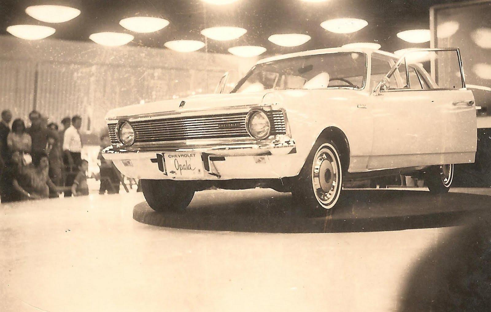 chevrolet opala durante lancamento no salao do automovel 1968 credito para ingo hoffman arquivo pessoal