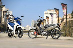 Linha 2022 da Honda Biz chega com poucas novidades
