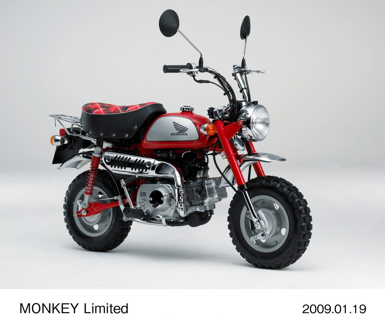 honda monkey 1 modelo monkey limited 2009