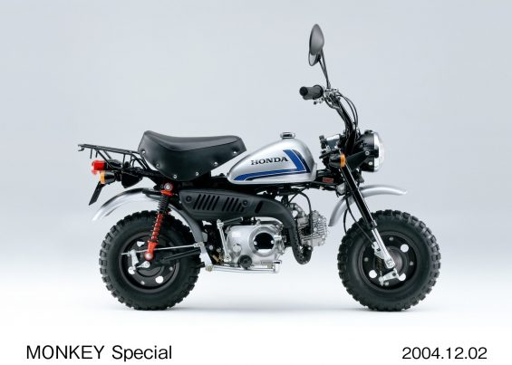 honda monkey 2 modelo monkey special 2004