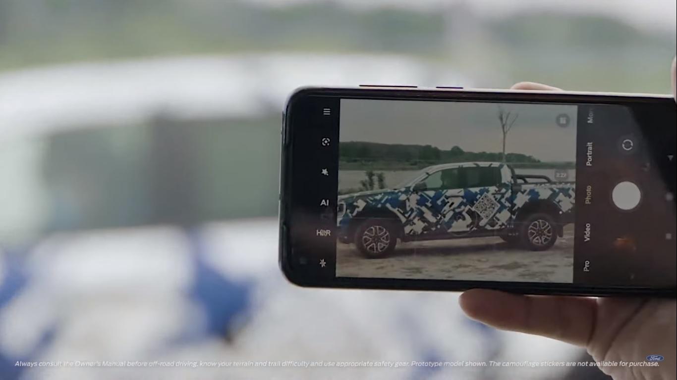 ford ranger teaser celular