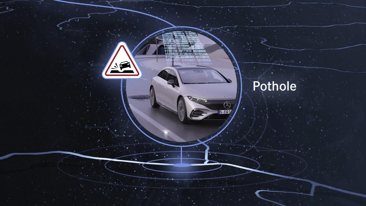 sistema car 2 x da mercedes benz avisa sobre buraos na via e lombadas em tempo real