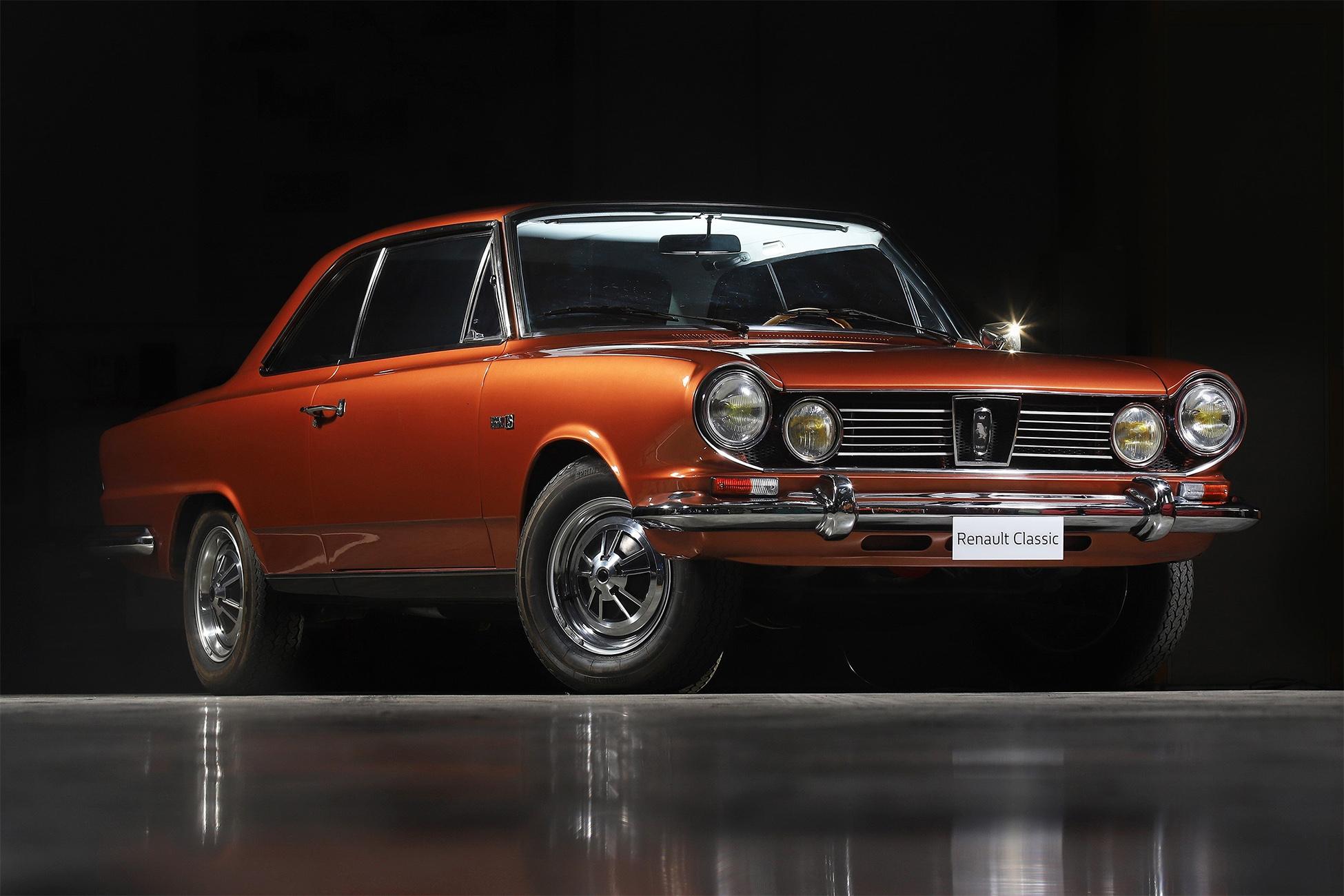ika renault torino vermelho de frente carro antigo feito na argentina