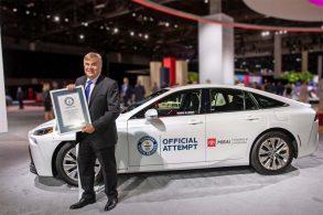 "Toyota Mirai bate recorde ao rodar 1.360 km sem ""reabastecer"""