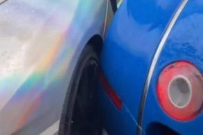 Bugatti dá ré em Lamborghini: o 'esbarrão' de milhares de dólares?