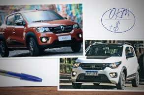 Renault Kwid e Fiat Mobi são os veículos mais baratos do país
