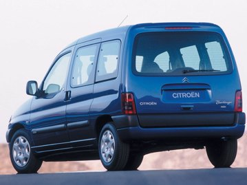 citroen berlingo-multispace-glx-16-16v-2007 traseira